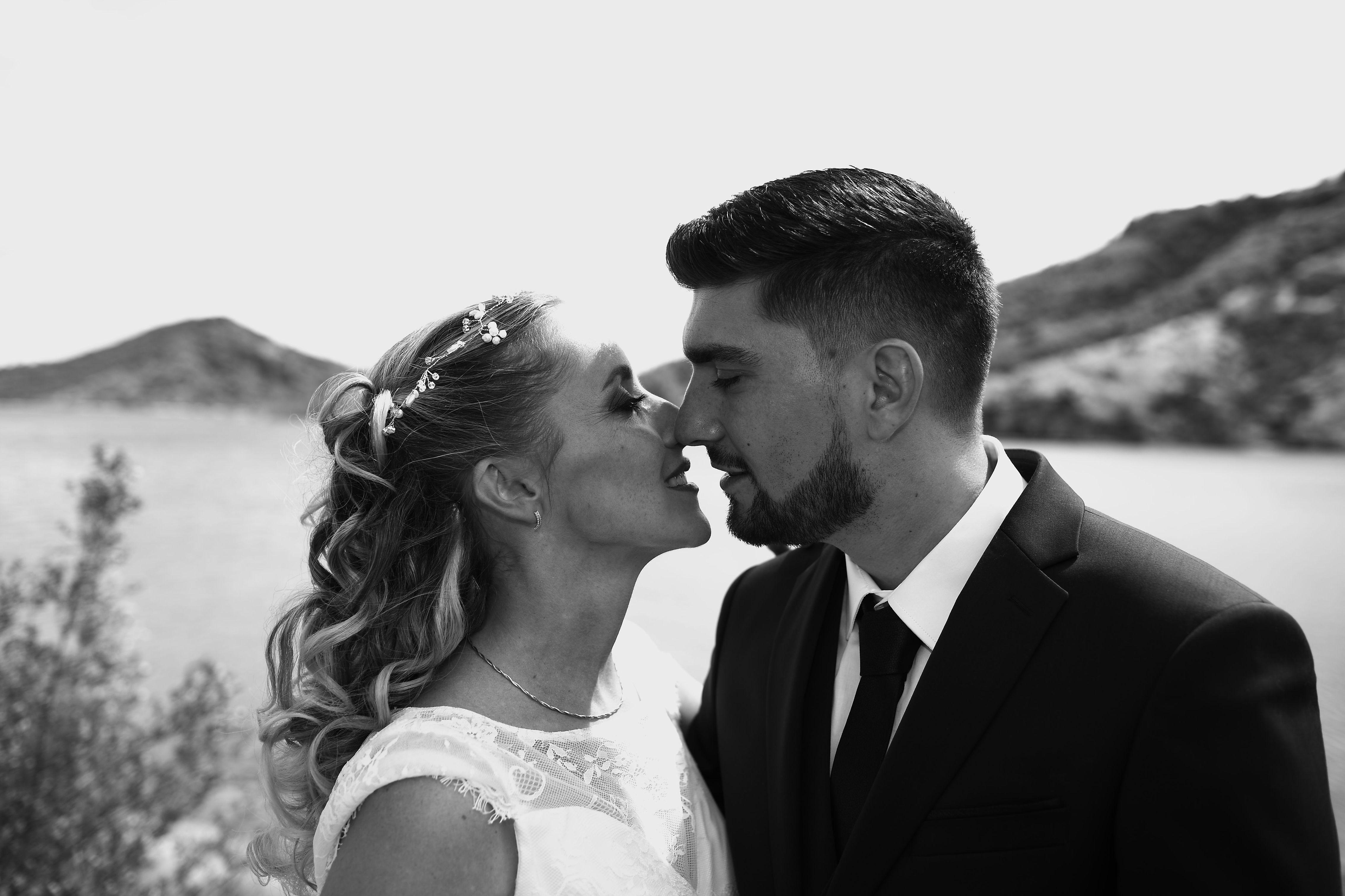 Mariage lac du Salagou 4