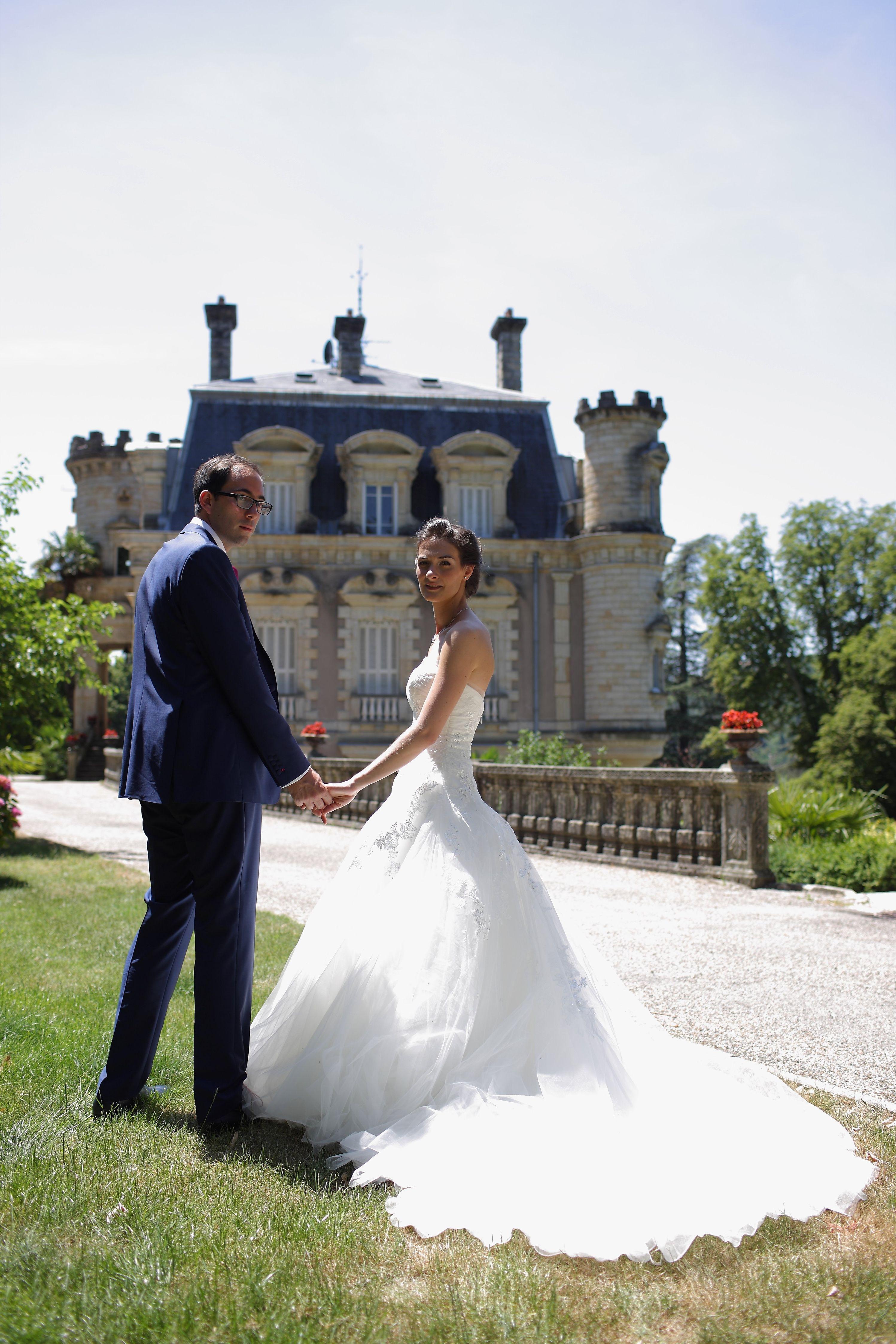 Mariage au Château Vals les Bains 3