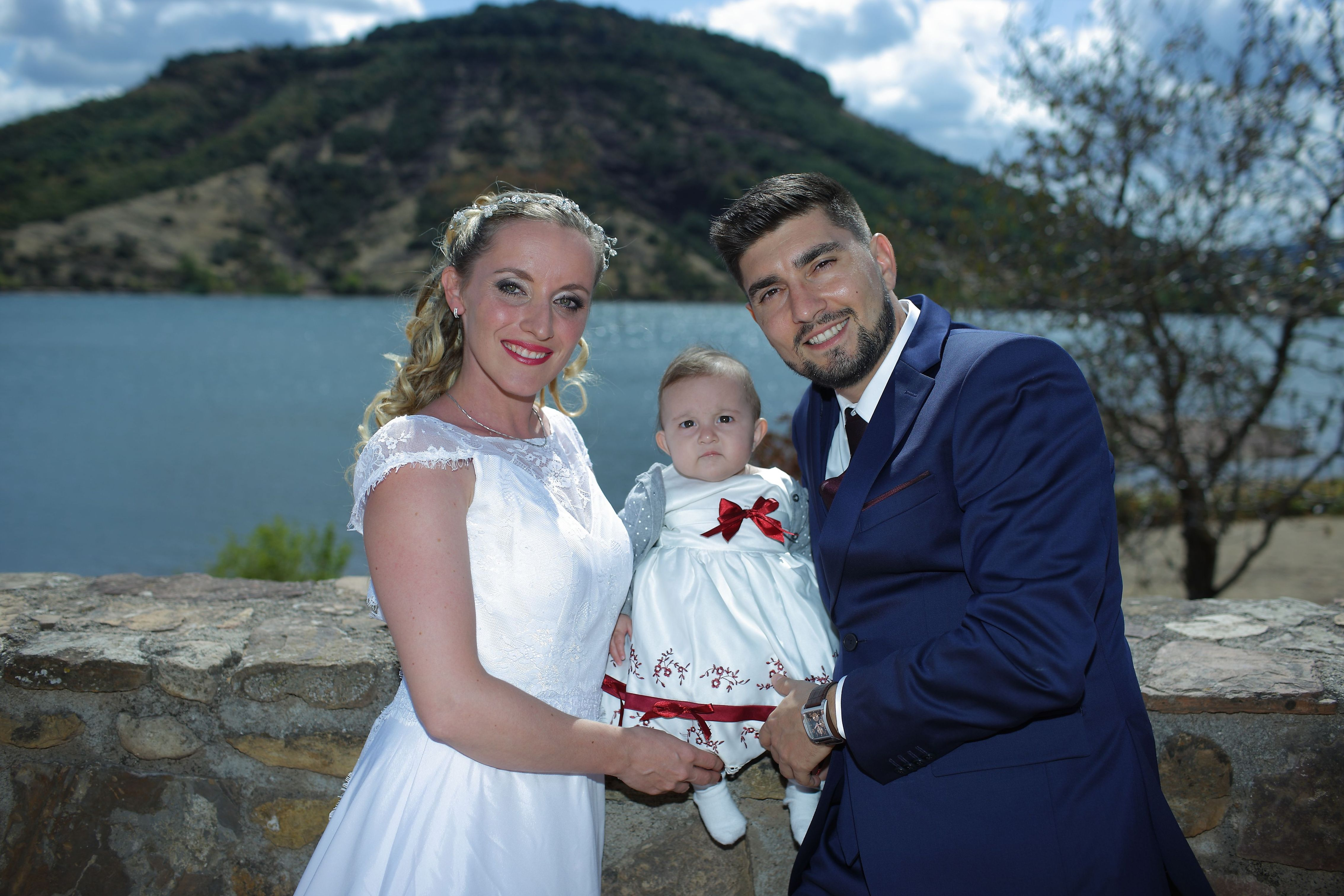 Mariage lac du Salagou 1