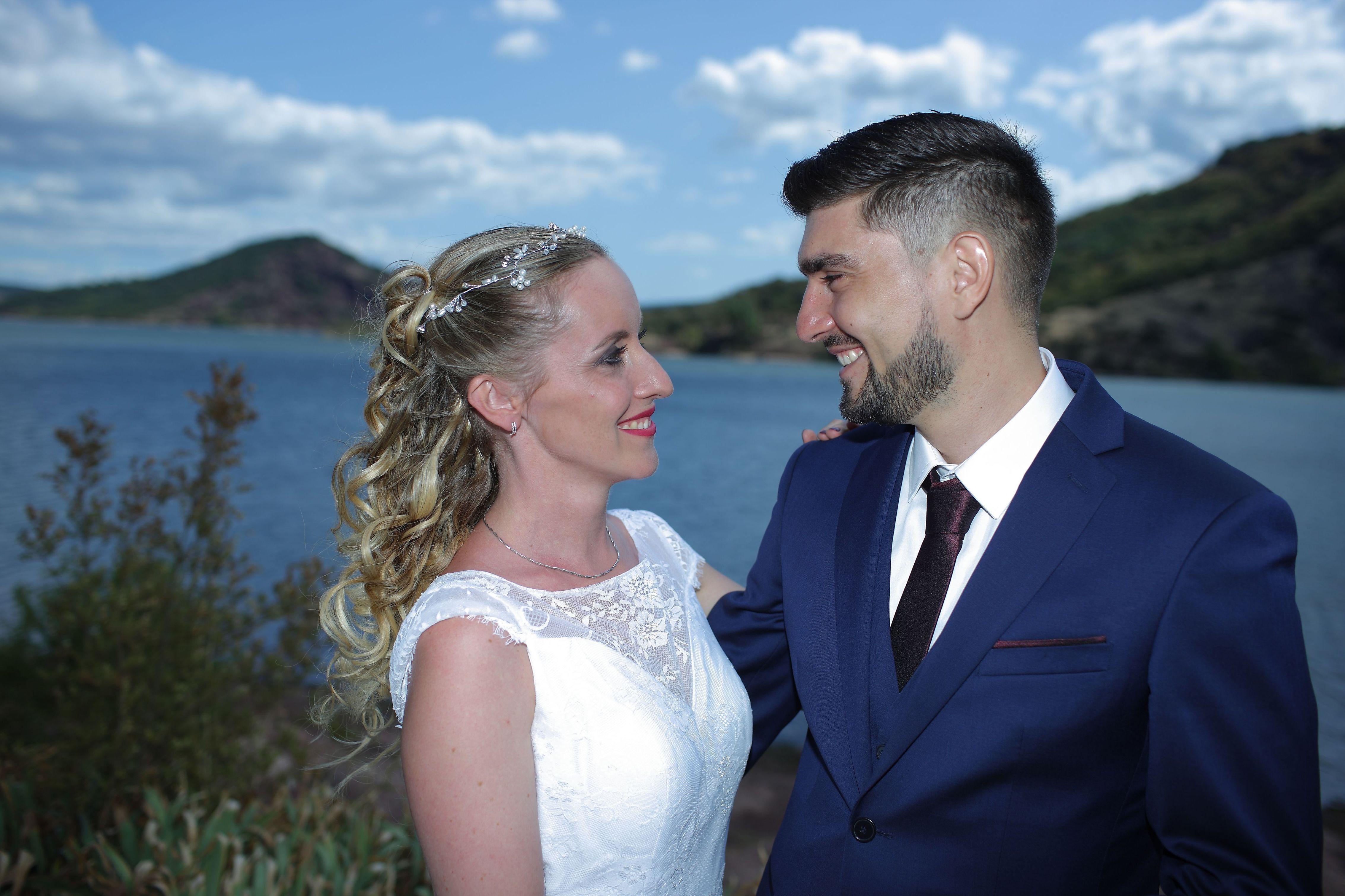 Mariage lac du Salagou 5
