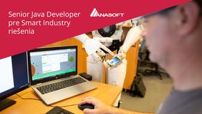 Senior Java Developer pre Smart Industry riešenia