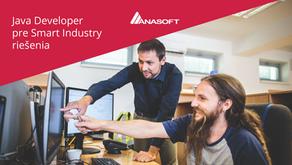 Java Developer pre Smart Industry riešenia