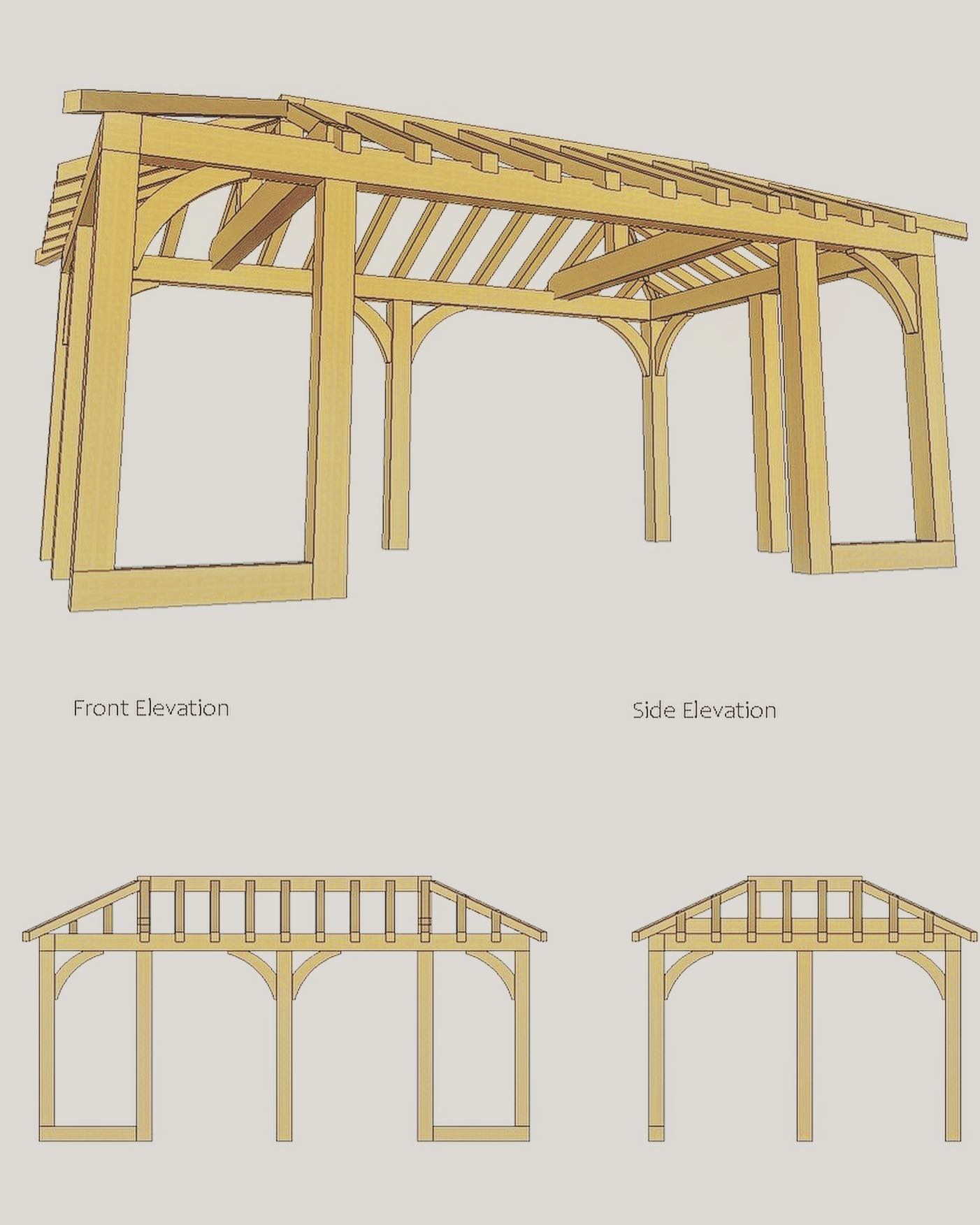 Oak Garden Room Design