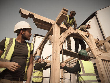 Oak framed structures by the Davies-Hugh