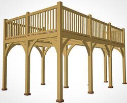 Oak Frame Balcony