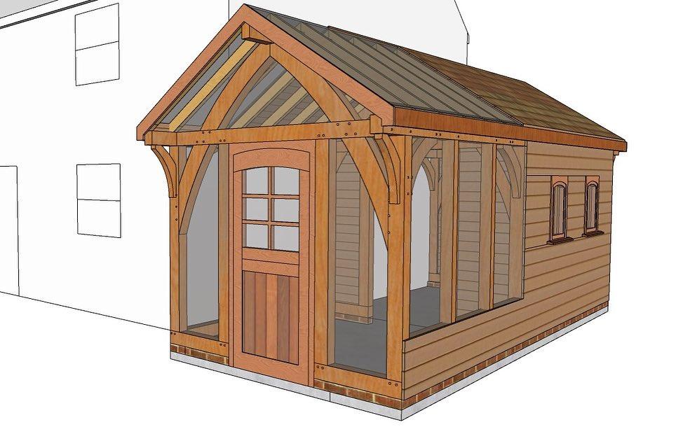 Oak Porch Design