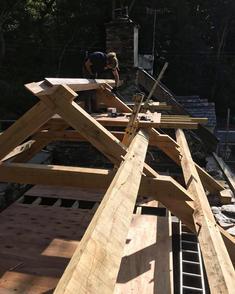 Oak Frame fitting
