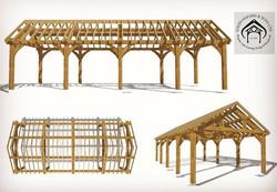 Oak Garage Design