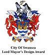 Lord Mayor of Swansea design Award Logo.