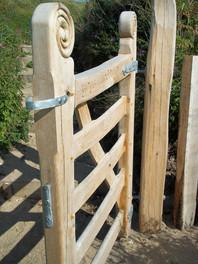Bespoke welsh oak gates