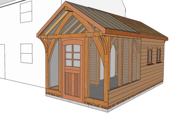 Bespoke Garden Workspace Design