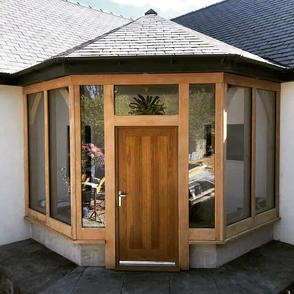Oak Frame Front Porch for a new build property