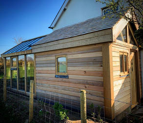 Oak Frame Garden Workspace