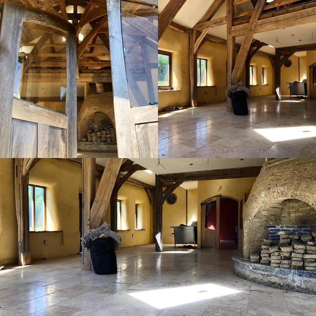 Sustainable building - using natural materials are not only a pleasure to work with - they make for a beautiful & healthy indoor space.