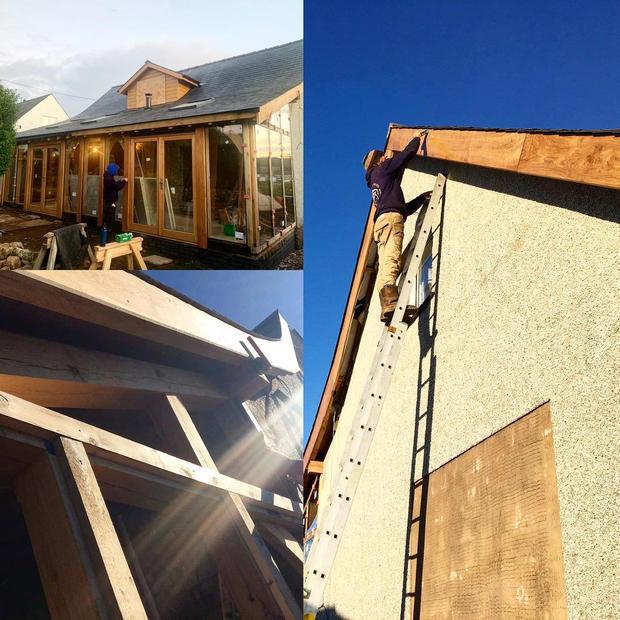 Extension Project - Oak frame Design.