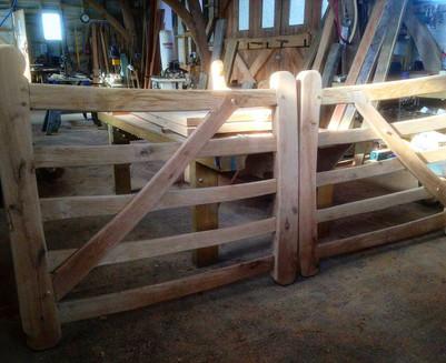 Welsh oak gates