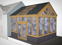 Garden Room Extension Design