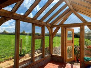 Oak Frame Greenhouse