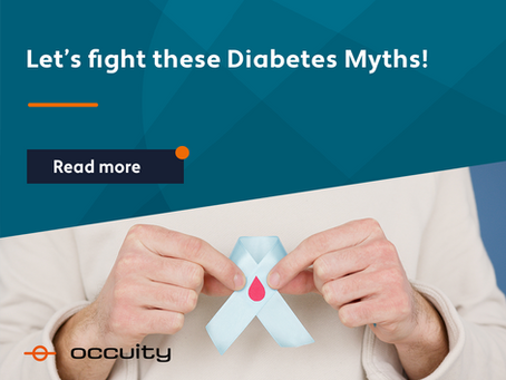 Let's fight these Diabetes Myths!