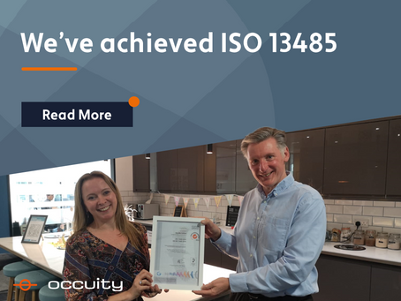Occuity achieves ISO 13485