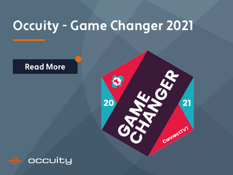 Occuity is part of the 2021 Game Changers!