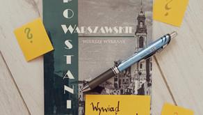 """Warszawa w sercach Polaków. Wywiad z autorką tomiku """"Powstanie warszawskie""""."""