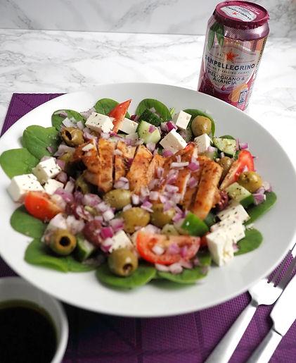 Greek Salad delivery near me Gluten free Peckham
