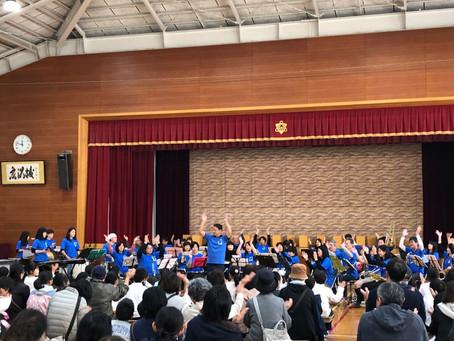 NEO吹奏楽オータムコンサートin広沢小学校