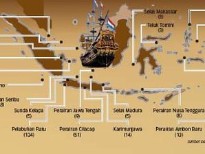 Perairan Indonesia kaya dengan harta karun berupa barang muatan kapal tenggelam (BMKT)