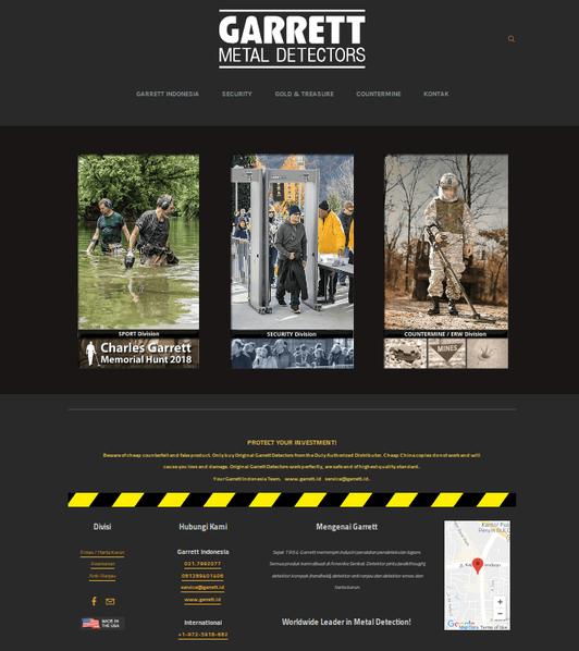website-garrett-metal-detectors-distribu