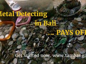 Deteksi Harta Karun di Bali