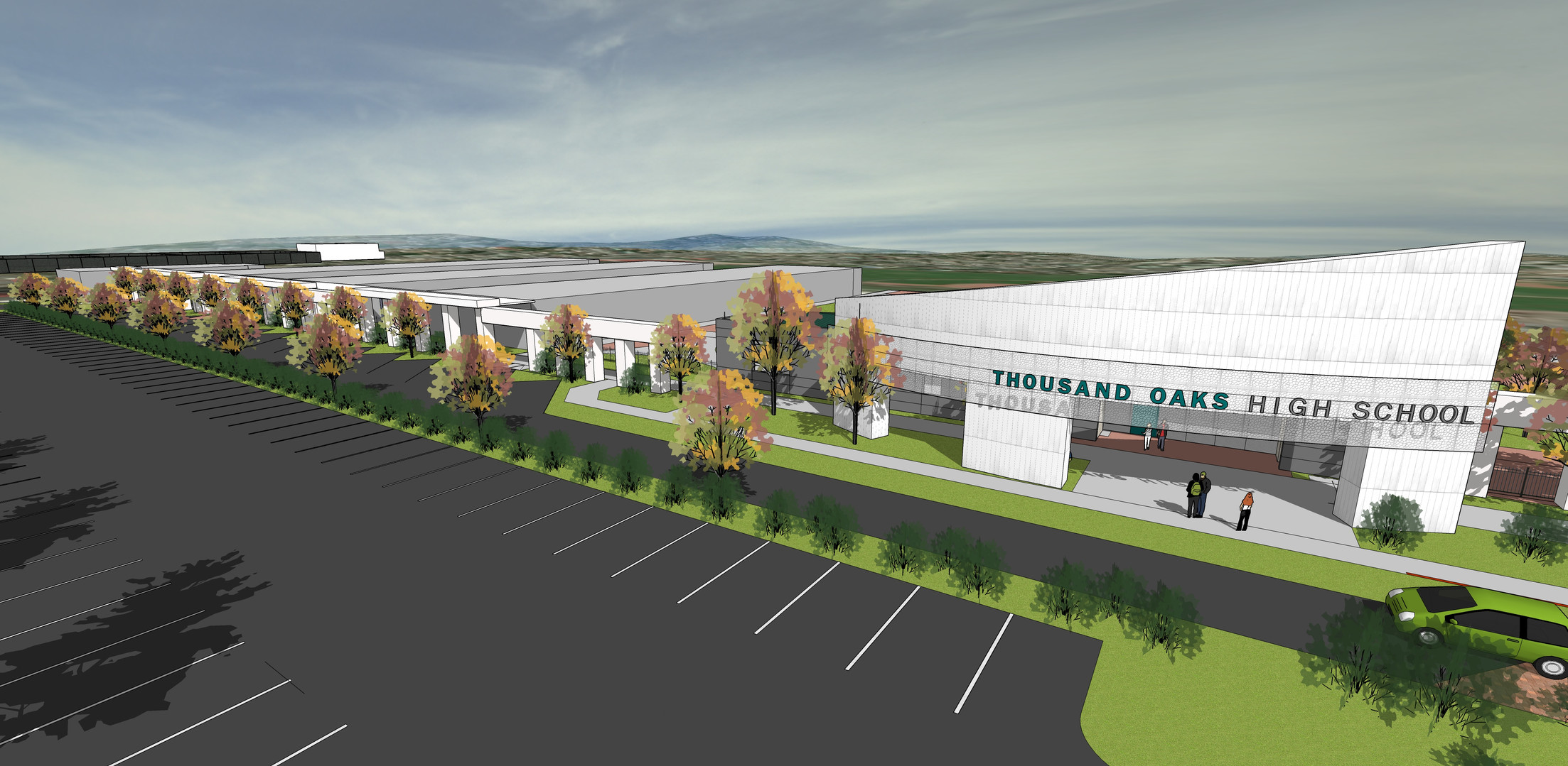 Thousand Oaks High School- Entry Remodel (Design)