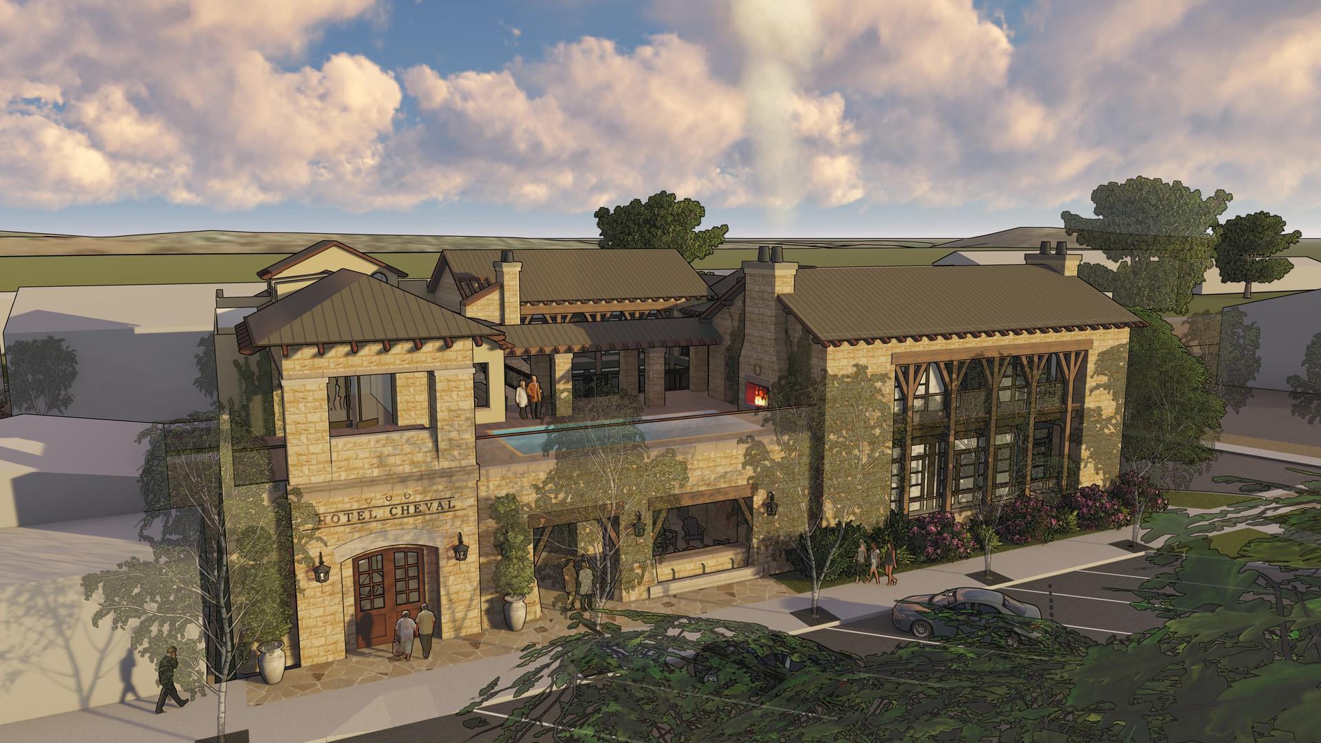 Hotel Cheval (Phase 2)- Paso Robles, CA
