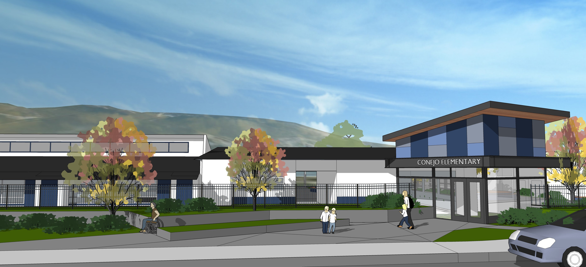 Conejo Elementary- Secure Campus Entrance (Design)