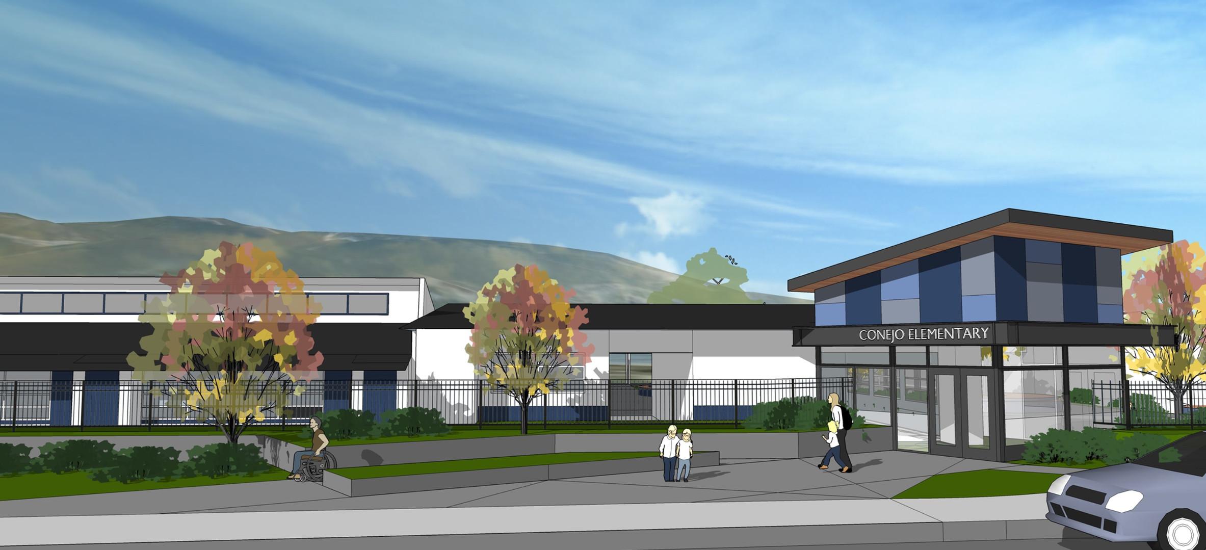 Conejo Elementary- Secure Campus Entrance (Design)