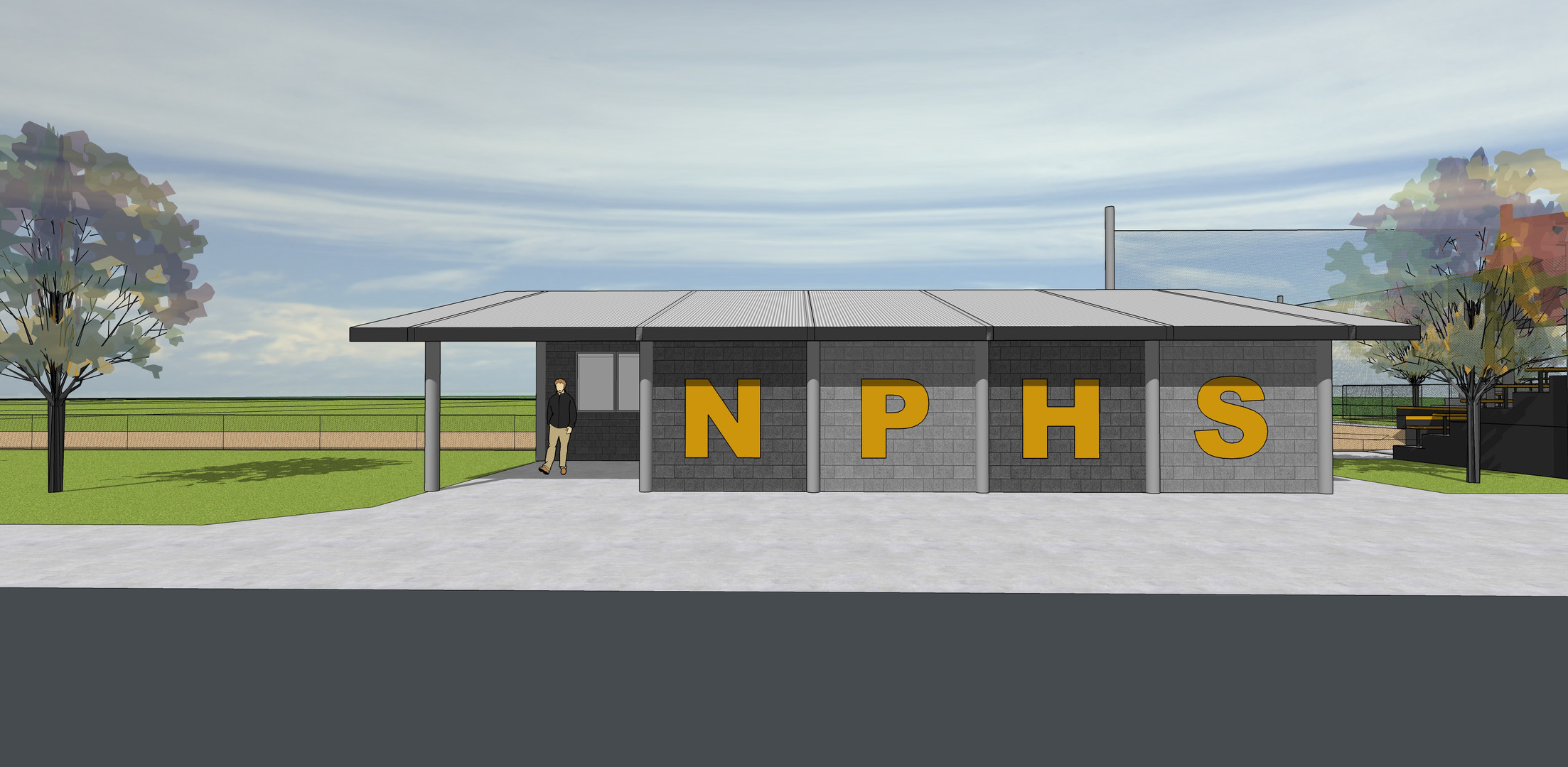 Newbury High School- Softball Complex (Design)