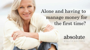 Alone and having to manage money for the first time?