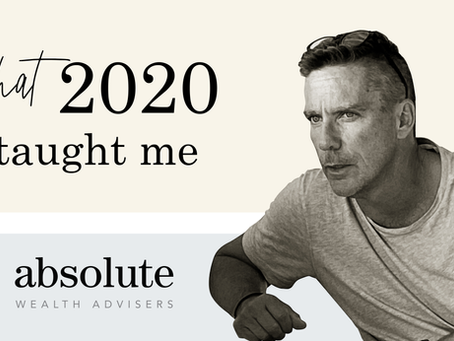 What 2020 Taught Me