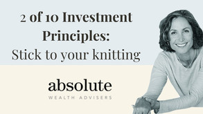 Lesson #2 of our Top 10 Investment Principles
