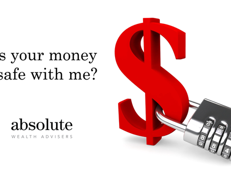 Is Your Money Safe With Me?