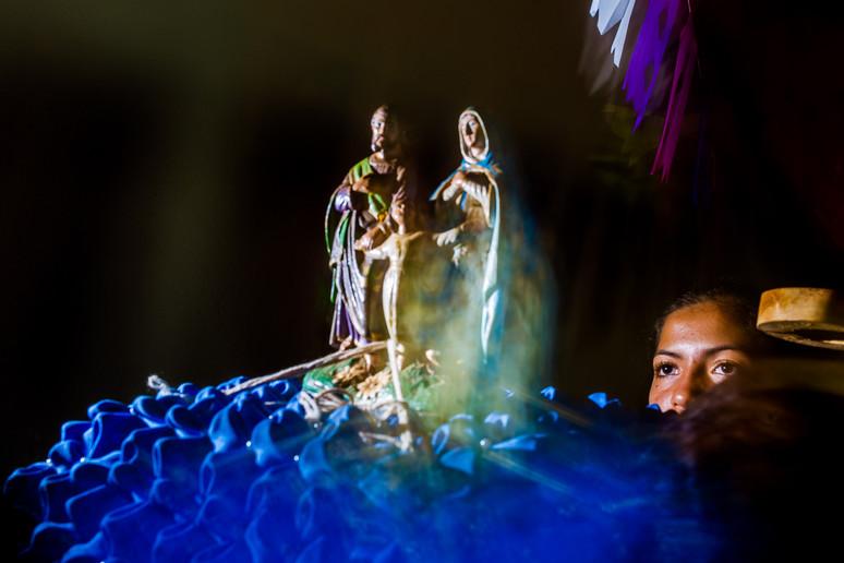 Festa de Jesus, Maria e José (sagrada familia). Poconé-MT