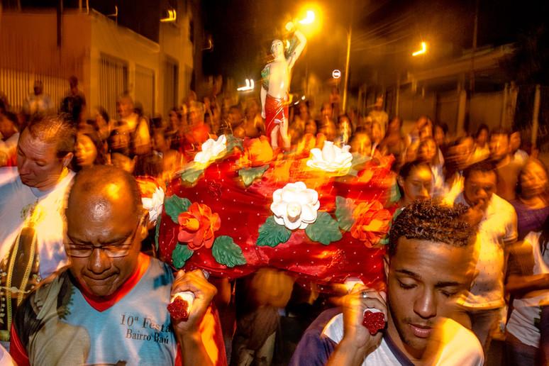 Festa de São Sebastião, São Benedito e Nossa Senhora - Bairro Baú, Cuiabá-MT