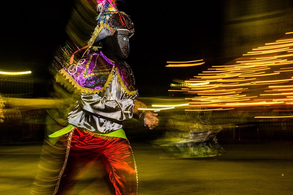 Mascarados de poconé. Foto: Luzo Reis