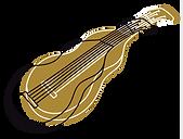 Figura de uma viola de cocho
