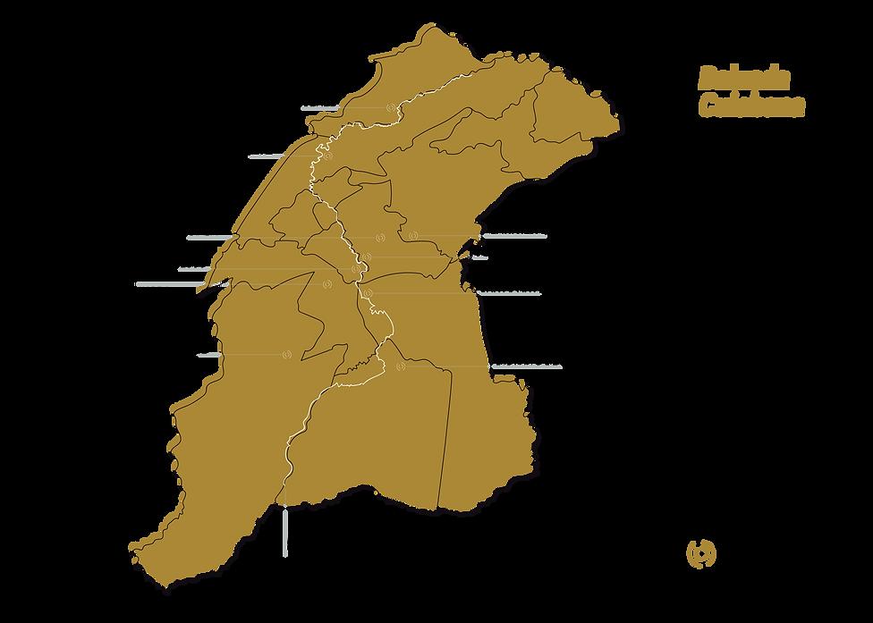 Desenho do Mapa da Baixada Cuiabana