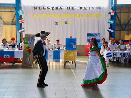 """Muestra de Historia """"Países Latinoamericanos"""""""
