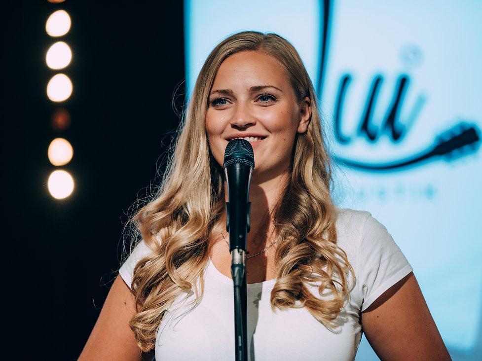 Sängerin Luisa Skrabic