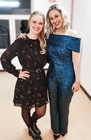 Moderatorin Luisa Skrabic und Ruth Moschner