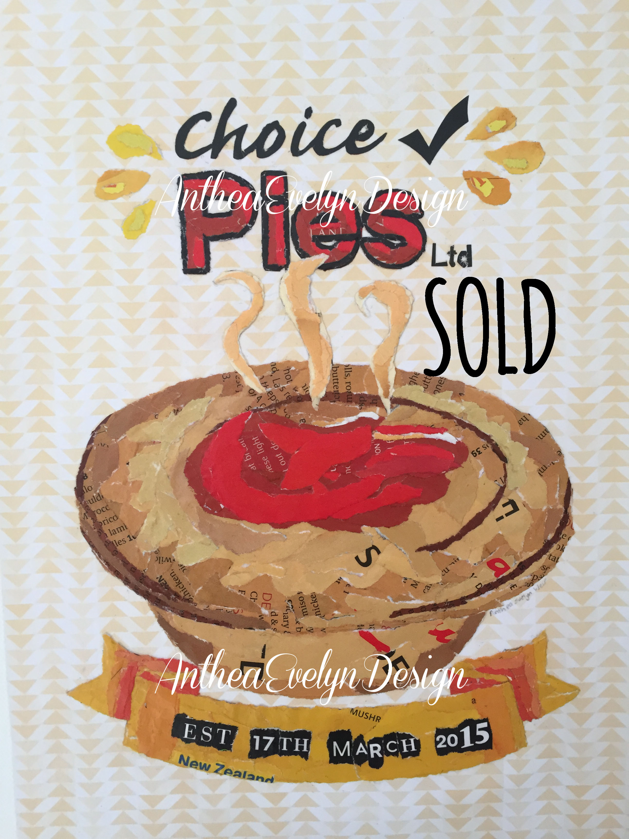 P1079 Choice Pies SOLD