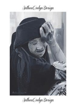 Old Arab Lady